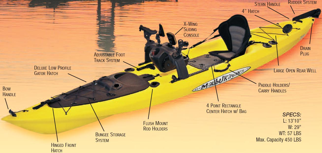 Malibu x 13 the ultimate fishing machine a fish out for Kayak fish stringer